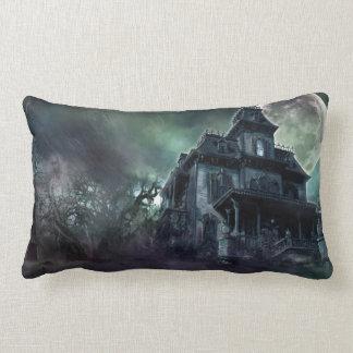 The Haunted House Paranormal Lumbar Pillow