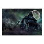 The Haunted House Paranormal Poster