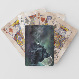 The Haunted House Bicycle Playing Cards