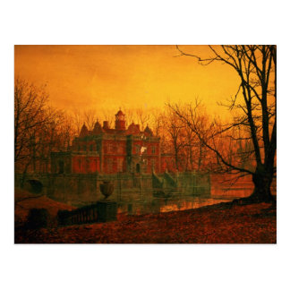The Haunted House Postcard