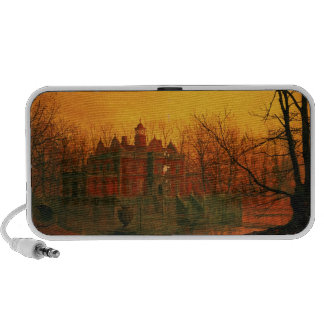 The Haunted House Portable Speakers