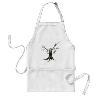 The Haunted Tree Adult Apron