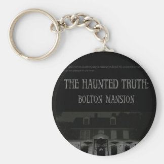 The Haunted Truth: Bolton Mansion Keychain