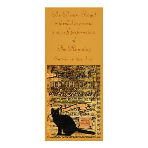 The Haunting Personalized Invites