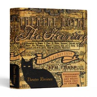 The Haunting Vinyl Binder