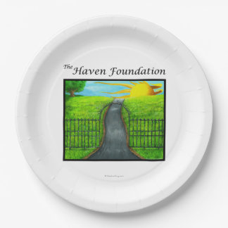The Haven Foundation Paper Plate