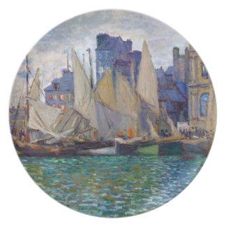 The Havre Museum Claude Monet Plate