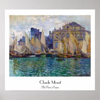 The Havre Museum Claude Monet Poster
