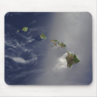 The Hawaii Archipelago aerial view Mouse Pad