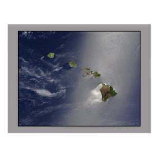 The Hawaii Archipelago aerial view Postcard