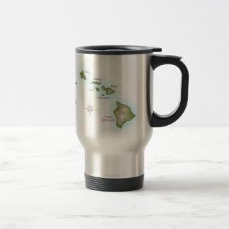 The Hawaiian Islands Travel Mug