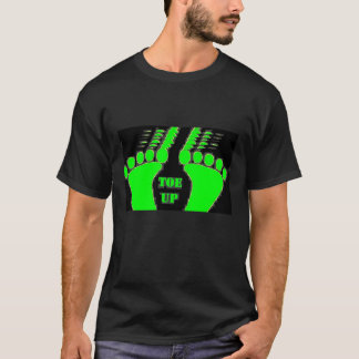 The Hawghead Brand TOE UP T-SHIRT by da'vy