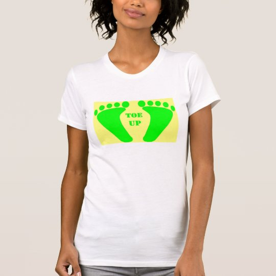 The Hawghead Brand TOE UP TEE by da'vy