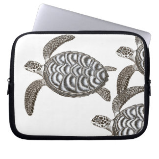 The Hawksbill Sea Turtles Electronics Bag Computer Sleeves