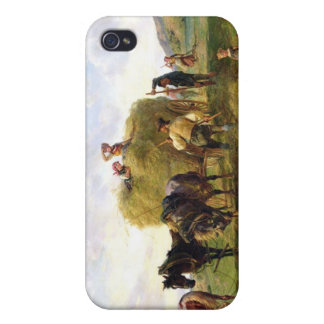 The Hay Harvest, 1869 iPhone 4 Cover