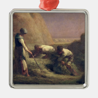 The Hay Trussers, 1850-51 Metal Ornament