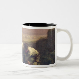 The Hay Trussers, 1850-51 Two-Tone Coffee Mug