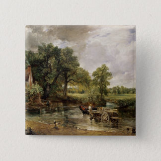 The Hay Wain, 1821 Button