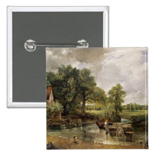 The Hay Wain, 1821 Pinback Button