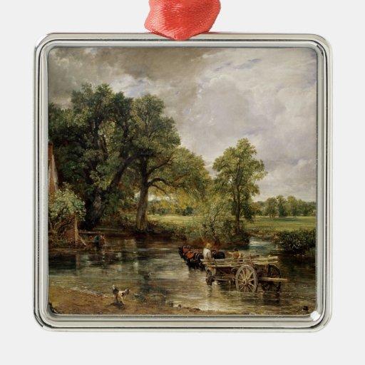 The Hay Wain, 1821 Christmas Tree Ornaments