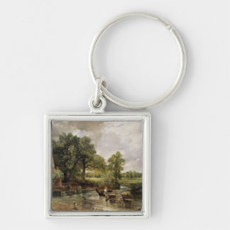 The Hay Wain, 1821 Keychain