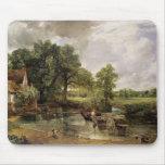 The Hay Wain, 1821 Mousepad