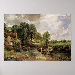 The Hay Wain, 1821 Poster