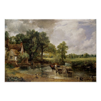The Hay Wain, 1821 Poster