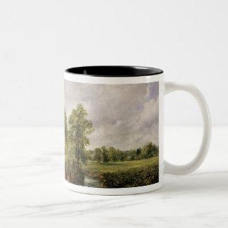 The Hay Wain, 1821 Two-Tone Coffee Mug