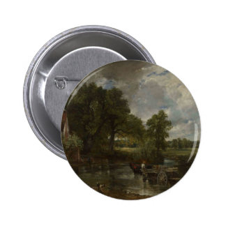 The Hay Wain Buttons