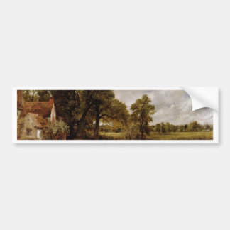 The Hay Wain By Constable John (Best Quality) Car Bumper Sticker