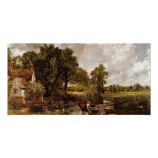 The Hay Wain By Constable John Best Quality Customized Photo Card