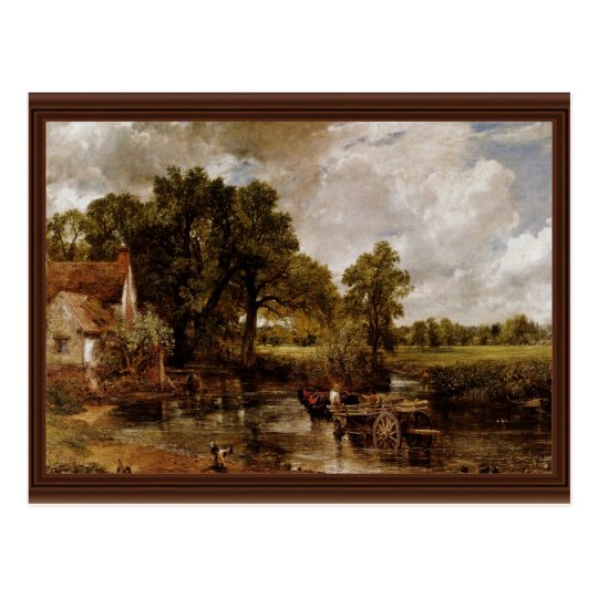 The Hay Wain By Constable John (Best Quality) Postcard