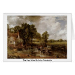 The Hay Wain By John Constable Greeting Card