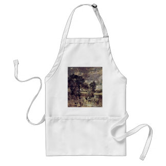The Hay Wain Study By John Constable (Best Quality Apron