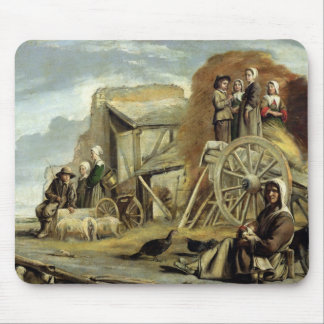 The Haycart, or Return from Haymaking, 1641 Mouse Pad