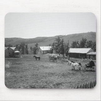 The Haylie Ranch, Crook County, Wyoming, c.1890 (b Mousepads
