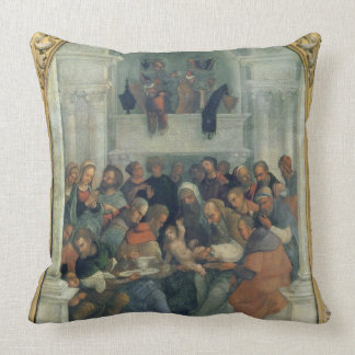 The Haymakers, 1877 Throw Pillow