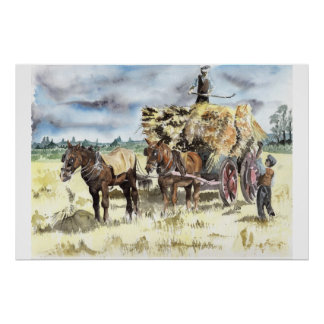 The Haymakers Print