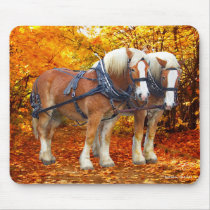 """""""The Hayride Team"""" Mouse Pad"""