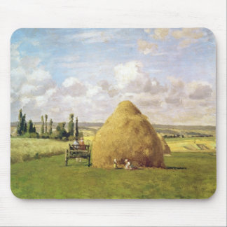 The haystack, Pontoise, 1873 Mouse Pad