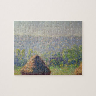 The Haystacks or, The End of the Summer, at Givern Jigsaw Puzzle