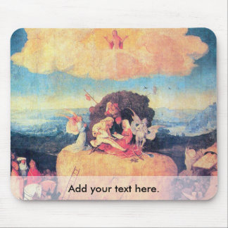 The Haywain Triptych Mouse Pad