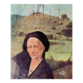The Haywain Triptych - Outer Panel - Detail Posters