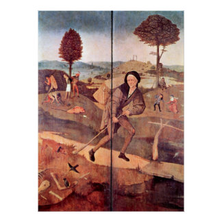The Haywain Triptych - Outer Panel Poster