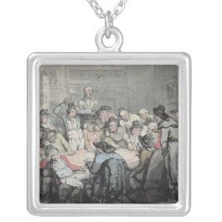 The Hazard Room Square Pendant Necklace