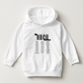 The HBCU Experience Toddler Hoodies