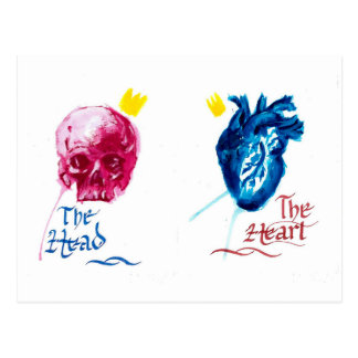 The Head and The Heart Postcard