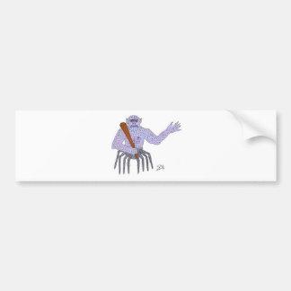 The Head Ghoul Bumper Sticker