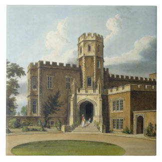 The Head Master's House, Rugby School, from 'Histo Ceramic Tile